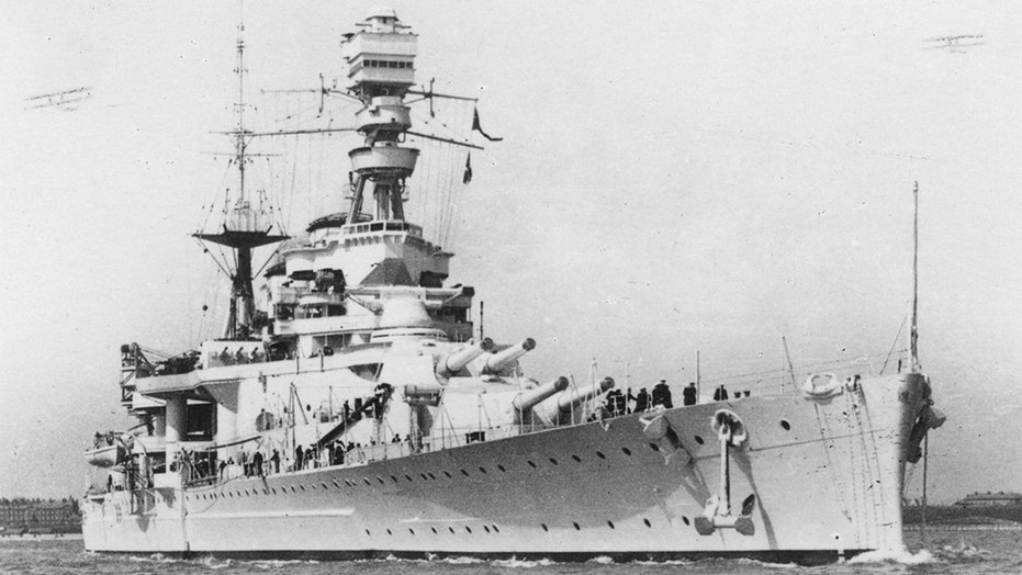 The HMS Repulse, which was sunk in Dec. 1941 off Malaysia, has recently been targeted by pirates looking for scrap metal.