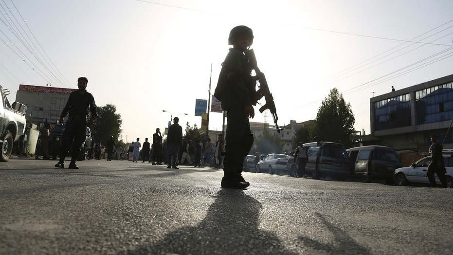 Aug. 15: Security personnel arrived at the site of a deadly suicide bombing that targeted a training class in a private building in the Shiite neighborhood of Dasht-i Barcha, in western Kabul