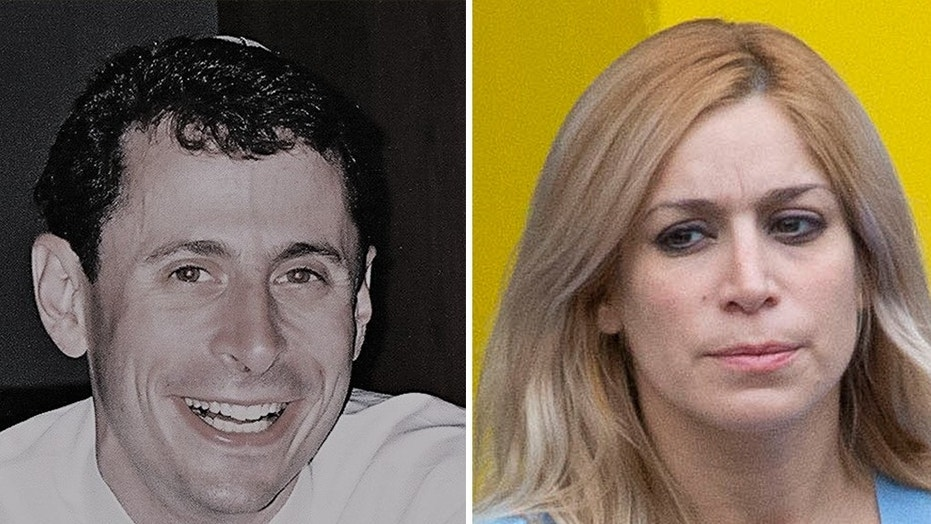 Áurea Vázquez Rijos (right) is slated to go on trial in connection with the murder of her husband, Adam  Anhang (left), whose net worth was estimated to be $24 million. Anhang, 32, a Winnipeg, Canada native who made his money in real estate and gaming software, was found beaten and stabbed to death in San Juan, Puerto Rico in September 2005. (Facebook/The Associated Press)