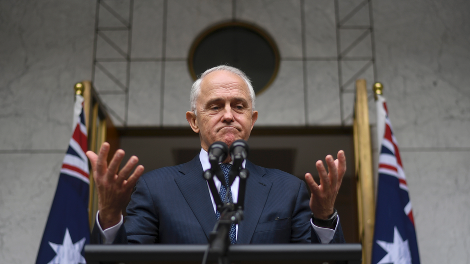 Australian prime minister Malcolm Turnbull ousted by party revolt