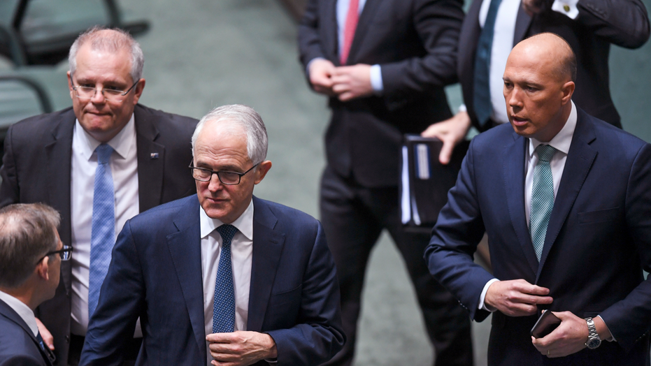 Australia's 'accidental prime minister' Scott Morrison promises stability