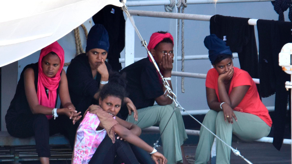 Migrants detained onboard rescue ship in Sicily allowed to disembark