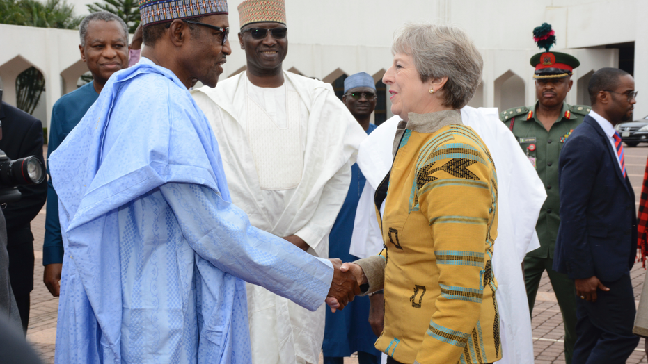UK's May pledges to boost Britain's investments in Africa