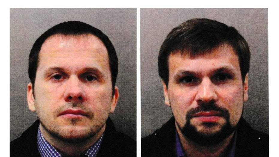 Novichok attack: United Kingdom issues arrest warrants as Russian suspects named