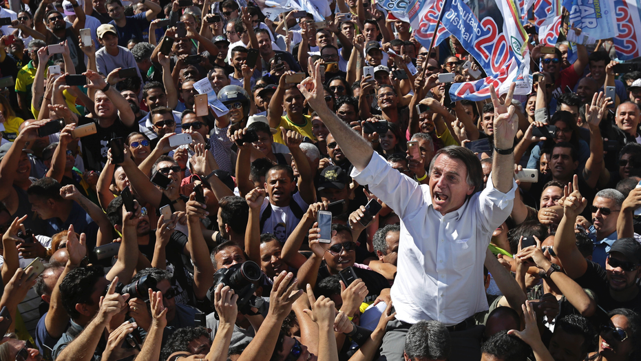 Brazil presidential election plunged into chaos after front-runner stabbed