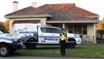 A police officer stands outside a property where five people were found dead in a suburb of Perth, Australia, September 9, 2018.    AAP/Richard Wainwright/via REUTERS    ATTENTION EDITORS - THIS IMAGE WAS PROVIDED BY A THIRD PARTY. NO RESALES. NO ARCHIVE. AUSTRALIA OUT. NEW ZEALAND OUT. - RC17737F2480