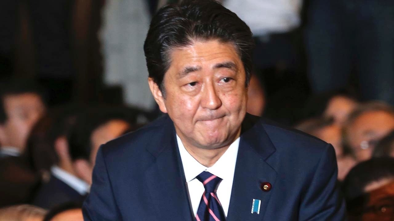 Japan's Abe re-elected as party head, to stay on as PM | Fox News