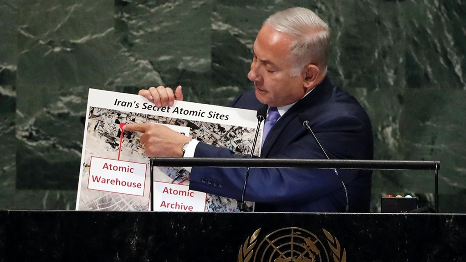 Netanyahu reveals new 'secret' Iran nuclear site thumbnail