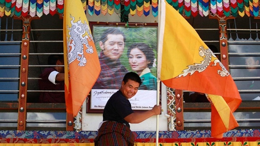 'Dragon King' Wedding Frenzy in Bhutan
