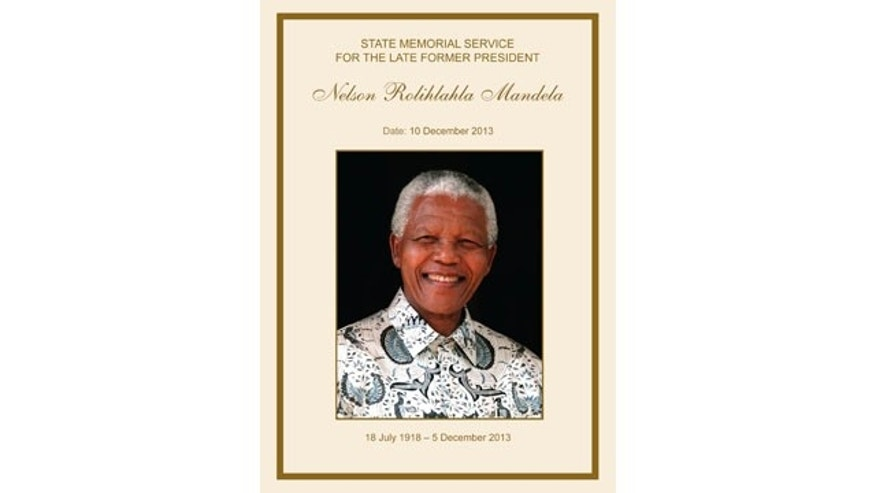 Nelson Mandela memorial service in South Africa