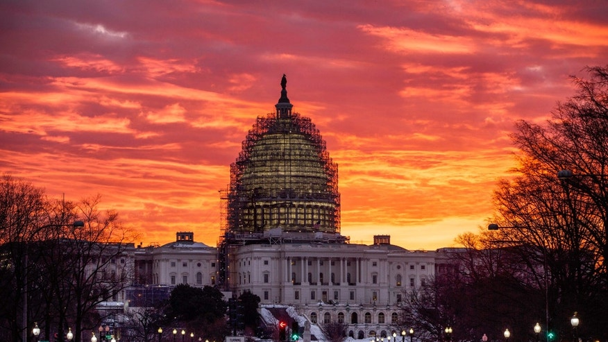 The Capitol in Washington is seen at sunrise, Tuesday, Jan. 26, 2016. (AP Photo/J. Scott Applewhite)