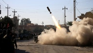 Members of the Iraqi rapid response forces fire missile toward Islamic State militants during a battle between Iraqi forces and Islamic State militants in Somer district of eastern Mosul, Iraq January 11, 2017. REUTERS/Alaa Al-Marjani - RTX2YHW0