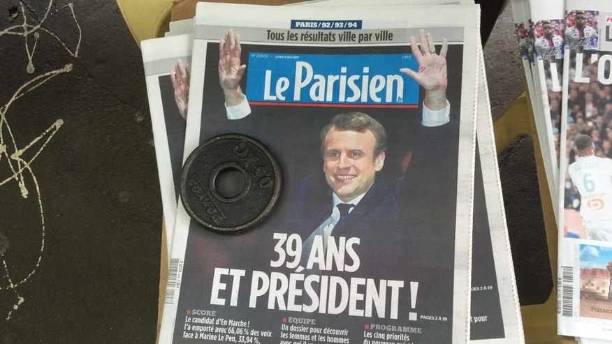 Emmanuel Macron wins French election