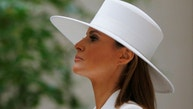 United States first lady Melania Trump visits the National Gallery of Art with her French counterpart Brigitte Macron in Washington, U.S., April 24, 2018.   REUTERS/Brian Snyder     TPX IMAGES OF THE DAY - RC1990A4BEE0
