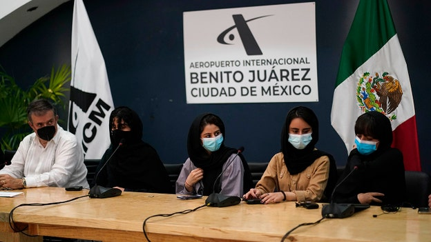 Mexico accepts its first Afghan refugees