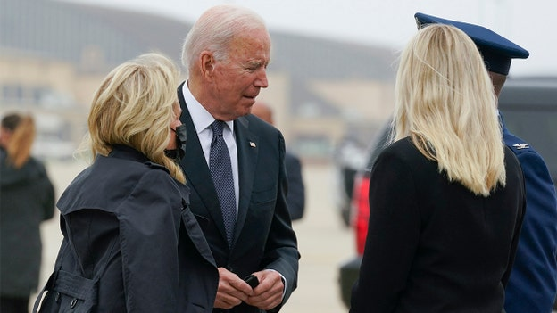 Biden to receive bodies of 13 service members killed in Kabul airport attack