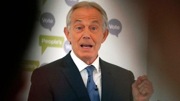 Tony Blair says Biden's Afghanistan 'abandonment' is 'tragic, dangerous, unnecessary'