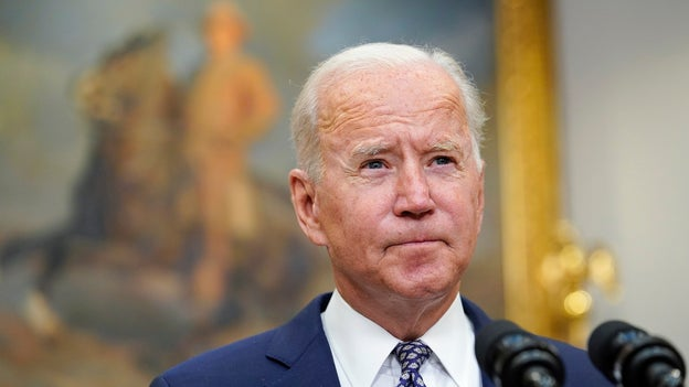 With Biden poll numbers plunging, Democrats worry Afghan exit may impact next year's elections