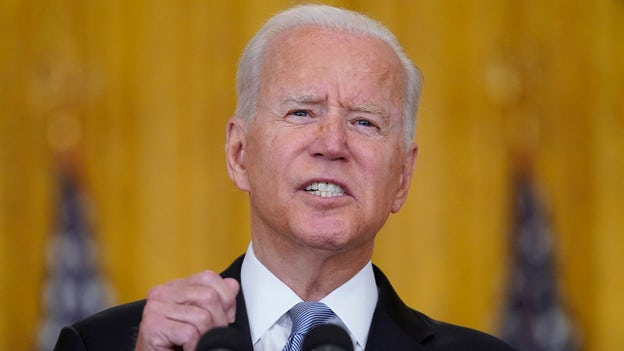 Outrage as Biden again takes no questions on Afghanistan: 'Walkaway Joe'