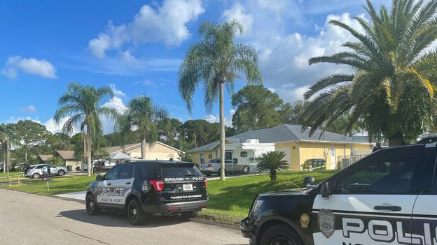 North Port Police return to Laundrie home