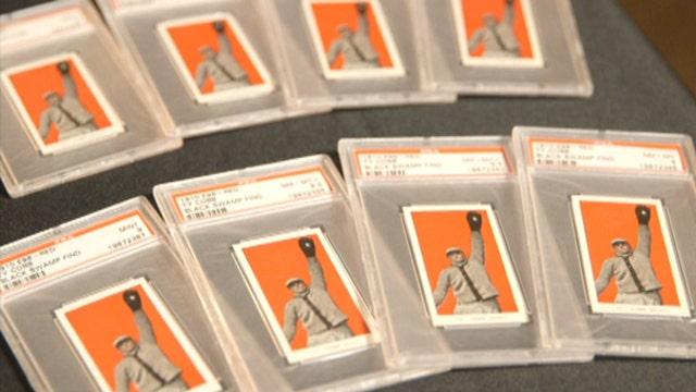 Strange Inheritance: Black swamp baseball card find