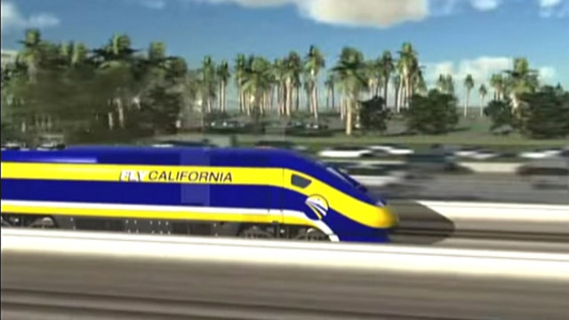 Government wasting $68B on a high-speed train in California?