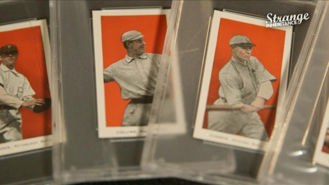 Strange Inheritance Black Swamp Baseball Card Find
