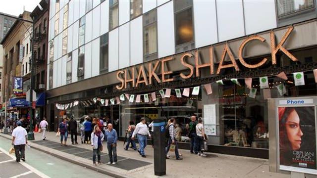 Shake Shack debuts on Wall Street