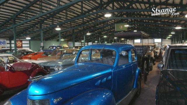 Strange Inheritance Classic Car Collection Part Of