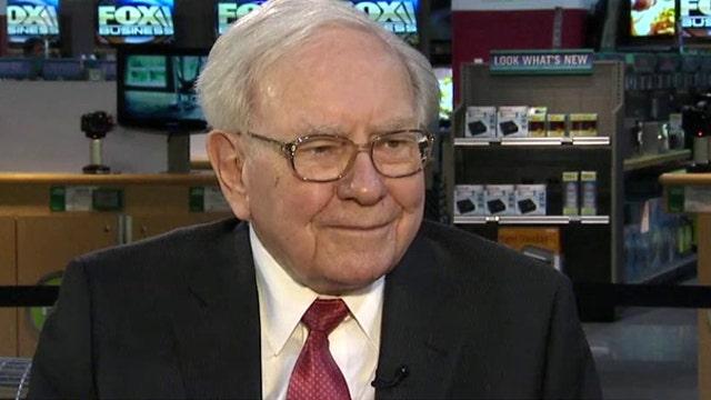 Warren Buffett's first interview of the year