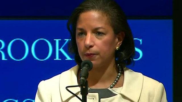 Susan Rice says U.S. not facing 'existential' threats