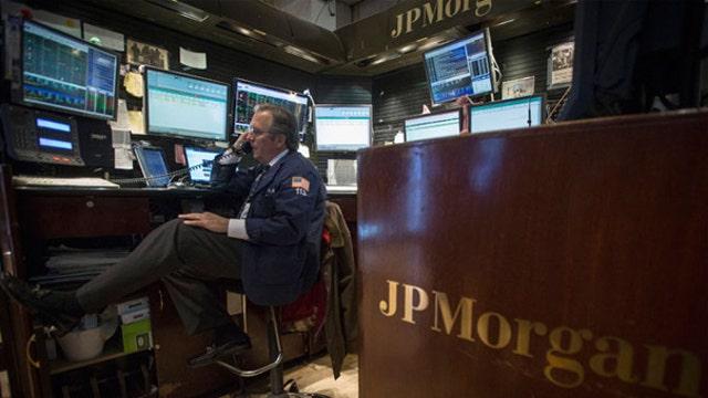 Financials rally
