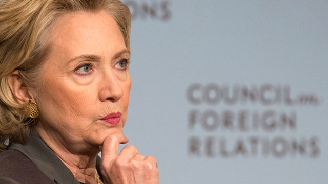Hillary Clinton getting the cold shoulder from Democrats?