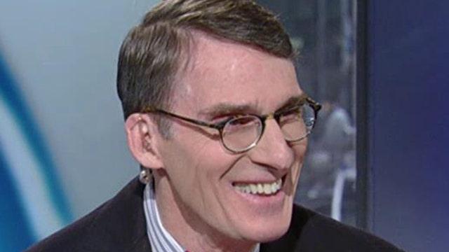 James Grant defines deflation, talks stocks