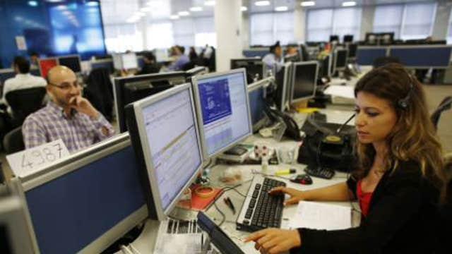 Chinese data, Greek concerns weigh on European markets