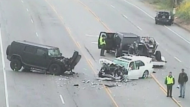 Police to review phone records in Jenner crash for signs of texting