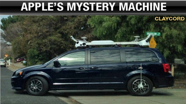 Apple is going after Tesla with mysterious vehicle testing?