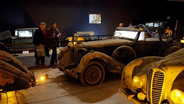 On the next 'Strange Inheritance' man inherits rusty car collection