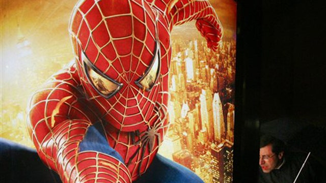 Spider-Man meets Captain America on the big screen