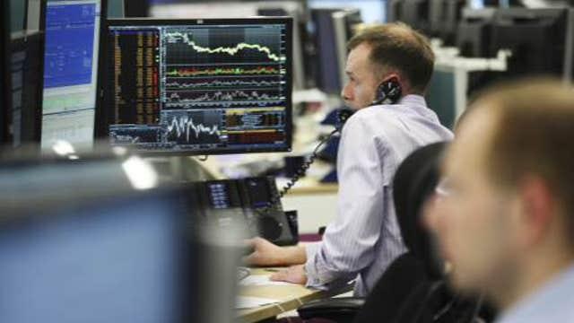 European shares mixed
