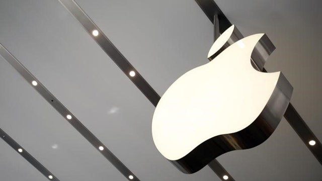 New high for Apple shares