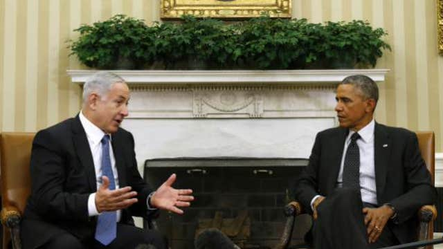 Obama's relationship with Netanyahu on the rocks?