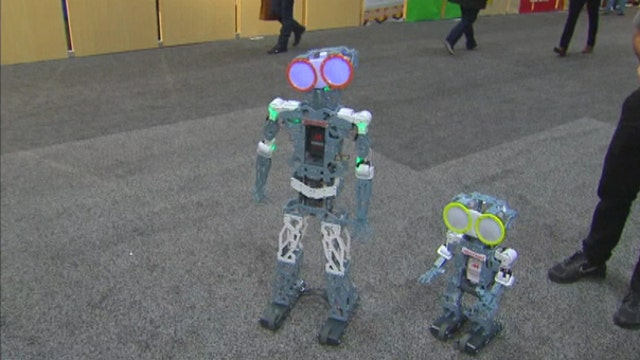 Now kids can build their own robot