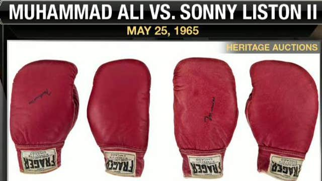Gloves from Ali-Liston 'Phantom Punch' fight up for auction