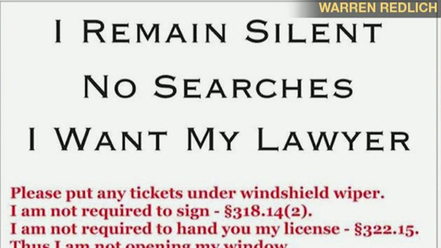 Florida lawyers' flyers spark debate over your rights at DUI checkpoints