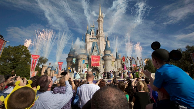Disney shares hit all-time high