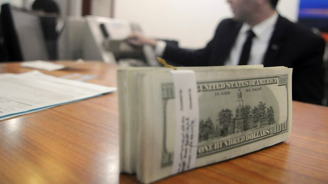 U.S. cash flowing overseas