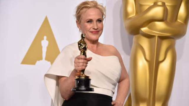 Patricia Arquette calls for wage equality in Hollywood