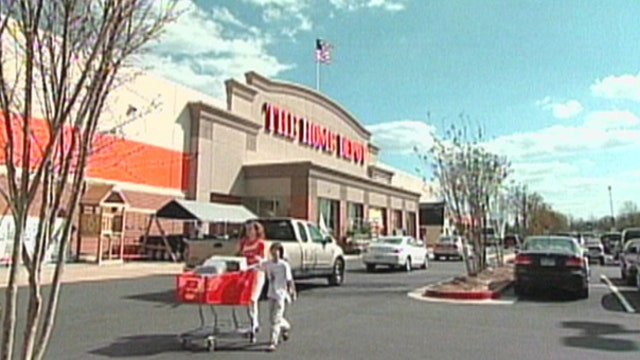Home Depot shares get boost from Americans sprucing up their homes