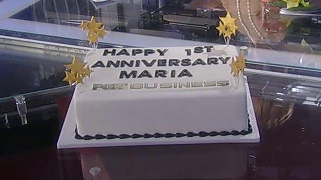 The 'Cake Boss' sends surprise to Maria Bartiromo